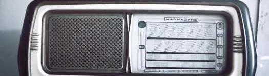 old radio magnadyne