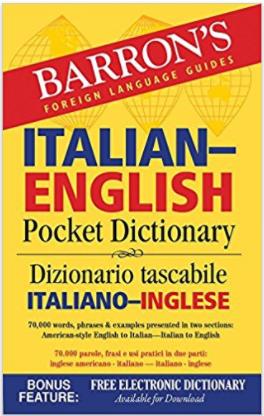 Barron Italian-English Pocket Dictionary