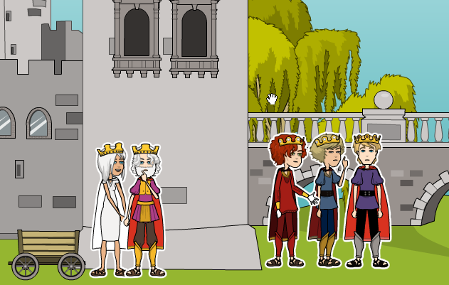 The_Griffins_Feather_Royal_Family