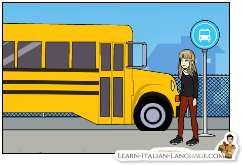 Young_woman_and_yellow_bus_cartoon